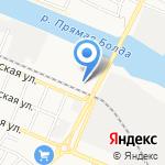 На Августовской на карте Астрахани