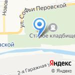 Кладбище №1 на карте Астрахани