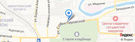 Ani Plaza на карте Астрахани