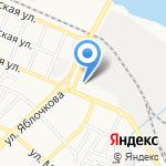 Экспо-Астрахань на карте Астрахани