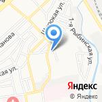 Чистый ручей на карте Астрахани