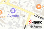 Схема проезда до компании АДМИН С в Астрахани