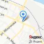 У Малика на карте Астрахани