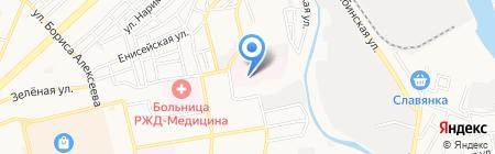 Областной детский клинический противотуберкулезный диспансер на карте Астрахани
