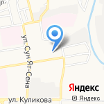 Магазин продуктов на карте Астрахани
