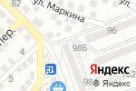 Схема проезда до компании Союз в Астрахани