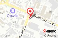 Схема проезда до компании ИмперА в Астрахани