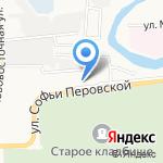 СТП на карте Астрахани