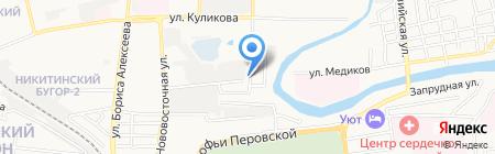 АвтоКом на карте Астрахани
