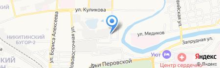 Астраханьпромсвязьмонтаж на карте Астрахани