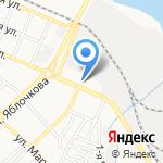 ВОЛГАКРЕП на карте Астрахани