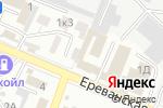 Схема проезда до компании Профзащита в Астрахани