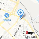 F.Матрица на карте Астрахани