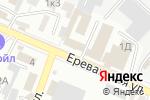Схема проезда до компании Южные инженерные сети в Астрахани