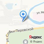 Электрогаз на карте Астрахани