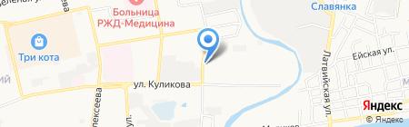 Vincent на карте Астрахани