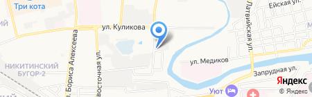Компания Эколог на карте Астрахани