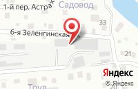 Схема проезда до компании Электрогаз в Астрахани