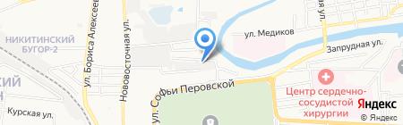 Ювмонтажавтоматика на карте Астрахани