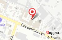 Схема проезда до компании КРЕПКОВЪ в Астрахани