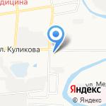 Лео на карте Астрахани