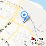 Азгард на карте Астрахани