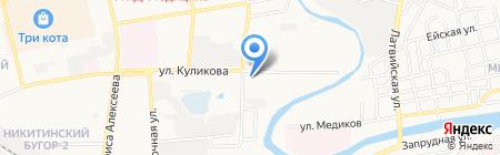 Сюрприз на карте Астрахани