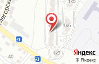 Схема проезда до компании Akmaral в Астрахани