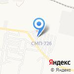 СМП-726 на карте Астрахани