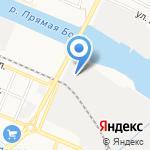 ЛУКОЙЛ-Астраханьэнерго на карте Астрахани