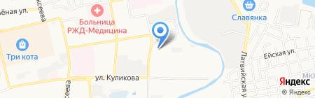 ФаворитЪ на карте Астрахани