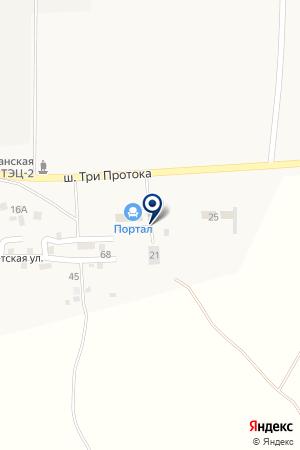 Торговый дом Портал на карте Кулаковки