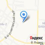 Судебный участок Ленинского района на карте Астрахани
