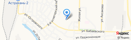 Средняя общеобразовательная школа №27 на карте Астрахани