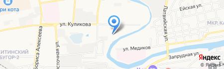 ЖЭК №12 на карте Астрахани