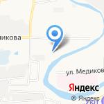 СЕТ на карте Астрахани