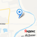 Ариб на карте Астрахани