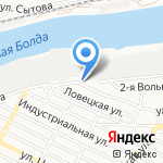 ТИТАН-Т на карте Астрахани