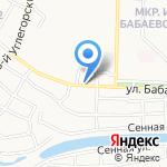 Mr.Пончик на карте Астрахани