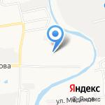 Авиатор на карте Астрахани