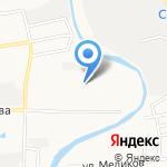 Клеопатра на карте Астрахани