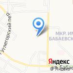 Анжи на карте Астрахани