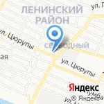 Зейтун на карте Астрахани