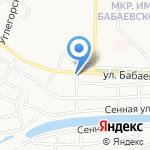RusAuto на карте Астрахани