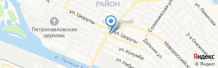 Строительная фирма на карте Астрахани