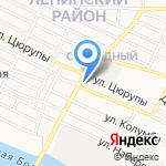 Компания по чистке ковров и мягкой мебели на карте Астрахани
