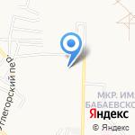 Свечка на карте Астрахани