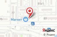Схема проезда до компании Рекламное агентство в Астрахани