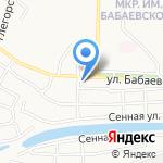 Храм Святого апостола Андрея Первозванного на карте Астрахани