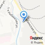 Эмекс на карте Астрахани